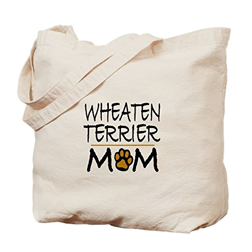 CafePress–Wheaten Terrier mamá–Gamuza de bolsa de lona bolsa, bolsa de la compra Small caqui
