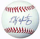 Edgar Martinez Autographed Official Major League Baseball Seattle Mariners MCS Holo Stock #113672