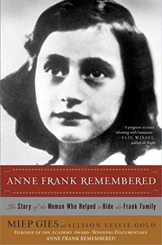 Amazon anne frank remembered the story of the woman who anne frank remembered the story of the woman who helped to hide the frank family fandeluxe Epub