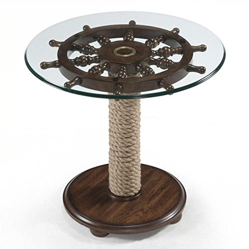 Magnussen Beaufort Accent Table in Dark Oak ()
