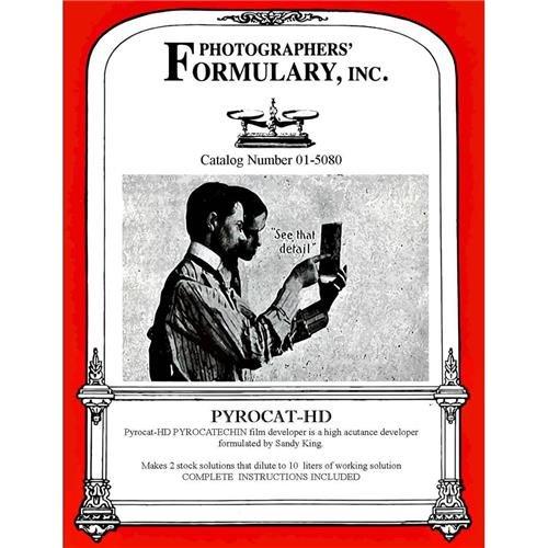 写真家' Formulary pyrocat-hd Film開発者、パウダー、Makes 10ltソリューション   B0064VTG40