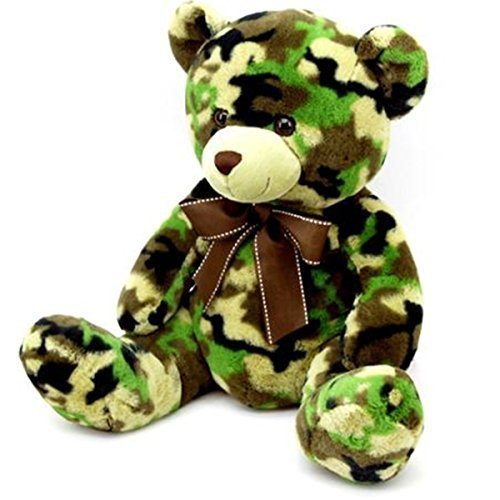 Dan Dee Camouflage Teddy Bear Plush 19""