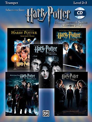 Harry Potter Instrumental Solos (Movies 1-5): Trumpet, Book & CD (Pop Instrumental Solos Series) ()