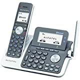Alcatel XP2050 - Teléfono fijo digital (inalámbrico, Bluetooth, pantalla LCD), negro