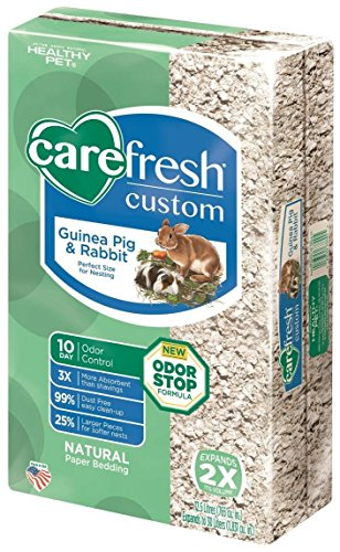 carefresh Custom Rabbit/Guinea Pig Pet Bedding, 30 L, Natural