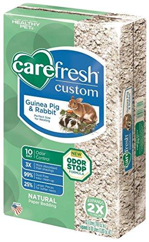 carefresh Custom Rabbit/Guinea Pig Pet Bedding, 30 L, Natural