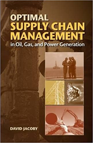 Optimal supply chain management in oil gas and power generation optimal supply chain management in oil gas and power generation david jacoby 9781593702922 amazon books fandeluxe Images
