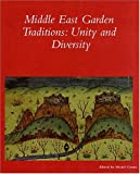 The Middle East Garden Traditions : Unity and Diversity, Conangla, M. Mercè, 088402329X