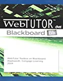 WebTutorTM ToolBox on Blackboard Printed Access Card 9780534274894
