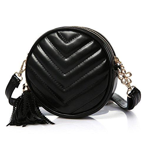 - Pinky Family Little Girls' Small Handbag Princess Crossbody Bag Baby Toddler Purse Black