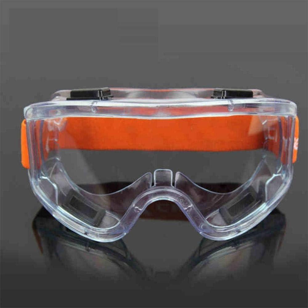 Gafas a Prueba de Viento Anti-Arena Anti-Niebla Lentes de Trabajo Transparente Anti-Impacto Laboratorio Industrial Protector de Vidrio