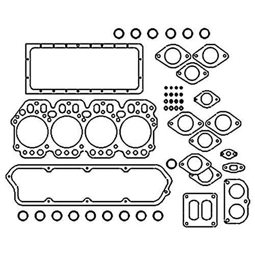 Amazon Com 703840r1 New Crank Case Gasket Made For Case Ih Tractor