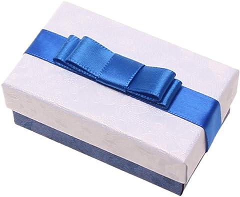 LAAT Estuche de joyería pequeño, Cajas para Joyas Organizador, Pendientes con joyero de Viaje Joyas para Collares,Tablero, 1PCS: Amazon.es: Joyería
