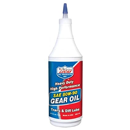 Amazon com: Lucas Oil LUC10043 1 Quart (32 Ounces) Gear Oil