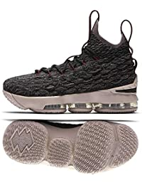 competitive price c8be9 ad794 Kid s Lebron XV GS, Black Black-Taupe Grey-Team RED, Youth · Nike