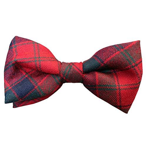 Ingles Buchan Mens Scottish Wool Tartan Pre-Tied Bow Tie - Tie Tartan Wool
