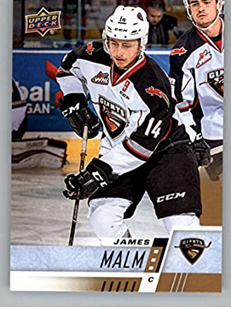 Amazon Com 2017 18 Upper Deck Chl 180 James Malm Vancouver Giants
