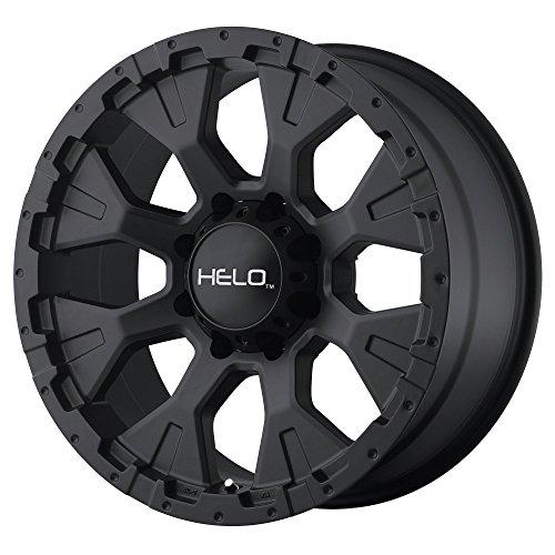 HELO HE878 SATIN BLACK HE878 17x9 5x127.00 SATIN BLACK  Whee