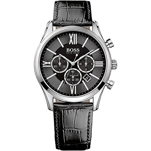 Hugo Boss Men's 1513194 Black Stainless Steel - Hugo Watch Boss Womens