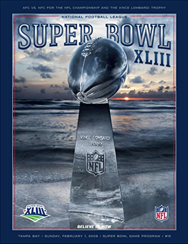2009 Super Bowl XLIII Program. Steelers VS Cardinals from Brigandi Coins and Collectibles