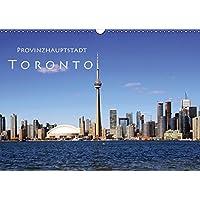 Provinzhauptstadt Toronto (Wandkalender 2017 DIN A3 quer): Stadt am Ontariosee (Monatskalender, 14 Seiten) (CALVENDO Orte)