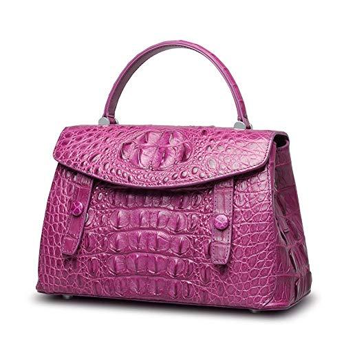 Main Fashion Croco épaule purple Main Sacs pour Classique Noir à Sac B Diagonal WWAVE Cuir Dames en Tendance à wzq7AH84