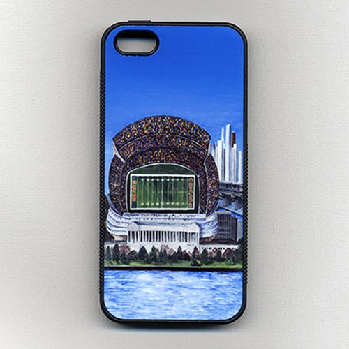 Cell Phone Case-Chicago Football-Chicago Sports teams-Soldier Field-Sports Team Stadiums-cell phone covers-Cases for iPhone 4/4s,iPhone 5/5s,iPhone 6/6s,6 plus,iPhone 7,Samsung Galaxy S4, S5, S6