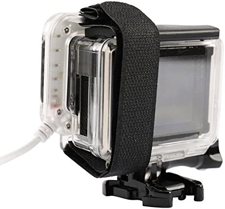XIAOMIN USB Lens Ring LED Flash Light Shooting Night for GoPro HERO4 //3 Premium Material