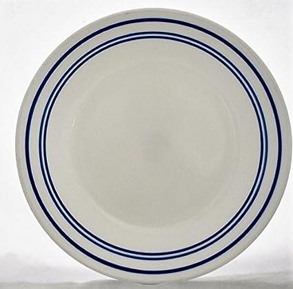 8-Piece Classic Caf/é Blue Corelle 1136762 Bread Plates