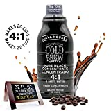JAVA HOUSE Cold Brew Coffee, Colombian 4:1 Liquid