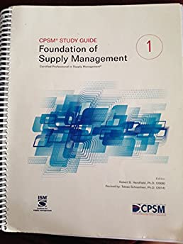 cpsm study guide 2nd edition robert b handfield 9780996043403 rh amazon com cpsm study guide free cpsm study guide ediction 2