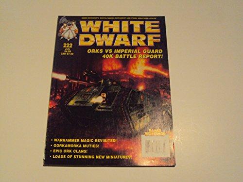 Dwarf Marine (White Dwarf Issue 222 Warhammer Space Marines Magazine)