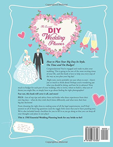 The Essential DIY Wedding Planner How To Plan Your Big Day In Style On Time And Budget Amazoncouk Alison McNicol 9781908707543 Books