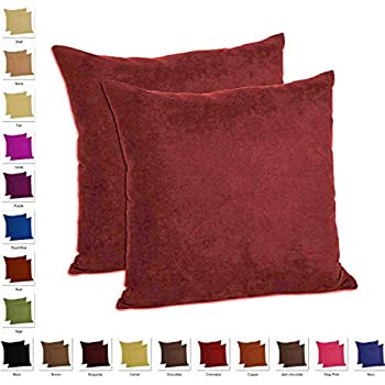 Amazon Com Mainstays Chenille Throw Pillow Set Of 2
