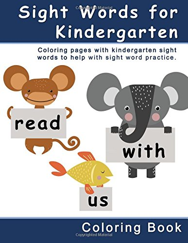 Workbook free phonics worksheets : Amazon.com: Sight Words for Kindergarten Coloring Book: Coloring ...