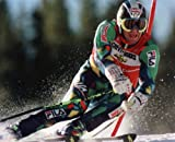 ALBERTO TOMBA ITALY OLYMPIC CHAMPION 8X10 SPORTS ACTION PHOTO (D)