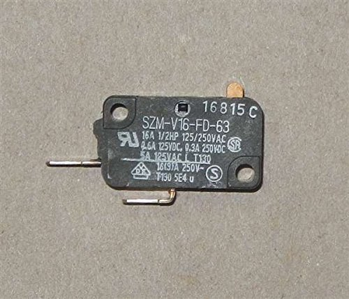 GE Part Number WB24X10038 SWITCH (Microwave Interlock Switch)