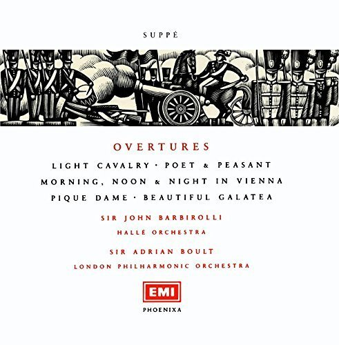 Phoenixa Series- Suppe: Overtures / Barbirolli, Halle Orch by Suppe (Phoenixa Series)