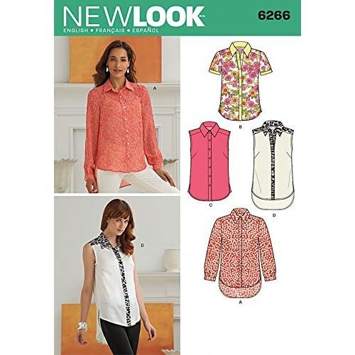Blouse Sewing Patterns Amazon
