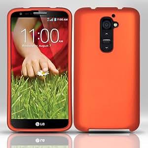 Orange Hard Cover Case for LG G2 H76E