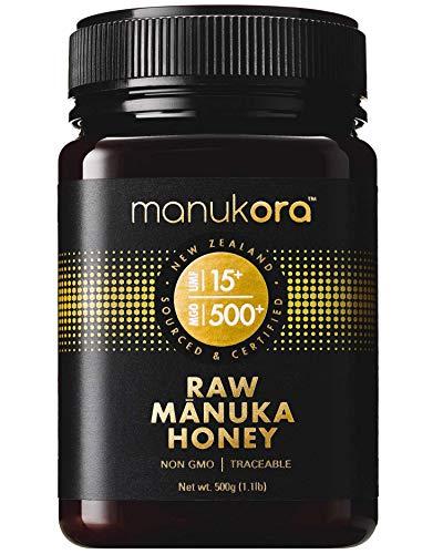 Manukora UMF 15+/MGO 500+ Raw Mānuka Honey (500g/1.1lb) Authentic Non-GMO New Zealand Honey, UMF & MGO Certified, Traceable from Hive to Hand by Manukora (Image #9)