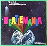 BEATLEMANIA Original Cast Winter Garden DBL LP Vinyl & GF Cover VG+ 1978 AL 8501