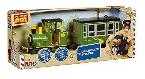 POSTMAN PAT SDS VEHICLE GREENDALE ROCKET TRAIN NEW by - Group Greendale