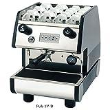 La Pavoni PUB 1V-B 1 Group Volumetric Electronic programmable Dosing Espresso Machine with Digital Control Pad (Black)