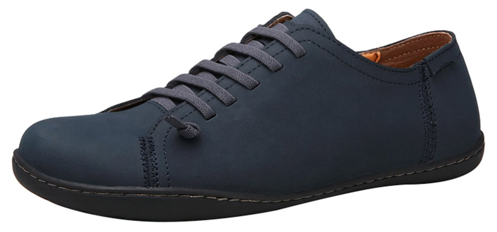 Salabobo FJQY-6336 New Mens Casual Leather Leisure Comfy Bussiness Driving Shoes Black US Size9.5