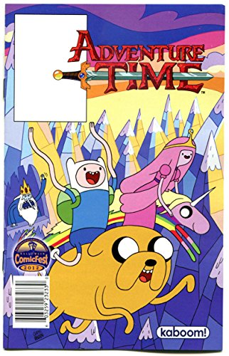 ADVENTURE TIME #1 Halloween ashcan, Promo, 2012, NM, KaBoom, more in store]()