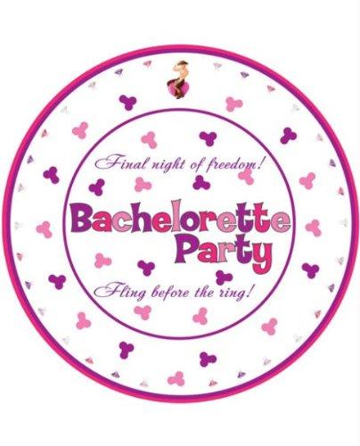 Bachelorette Party 10'' Plates - 10 Pack
