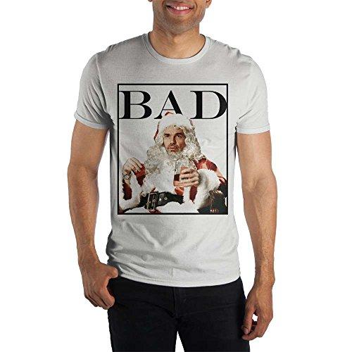 Bioworld Bad Santa Movie Mens White T Shirt-XL ()