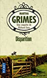 Disparition par Martha Grimes