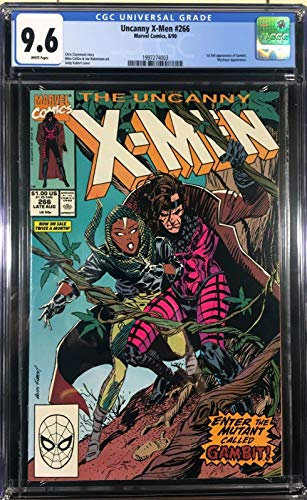Uncanny X-Men (1981) #266 CGC Graded 9.6 1st Full Appearance Gambit (1997274003)